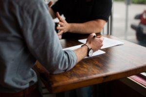 Verhandlung eines Webdesign Angebotes
